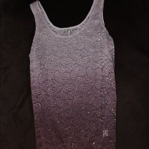 Tank top from buckle